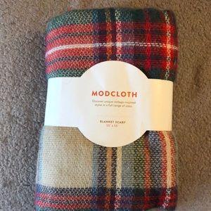 """ModCloth Blanket scarf 55""""x55"""" NWT"""